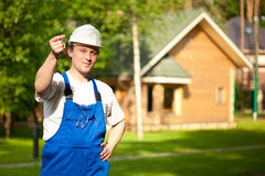 Delivering the house Stock Photography