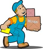 Delivery. Royalty Free Stock Images