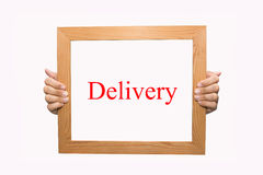 delivery Photographie stock