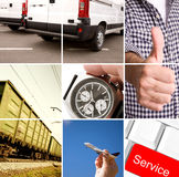 Delivery stock image