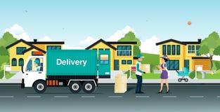 delivery illustration libre de droits