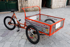 Delivery Bike Royalty Free Stock Photography