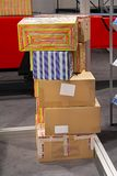 Delivery boxes Royalty Free Stock Photography