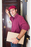 Delivery Boy Royalty Free Stock Image