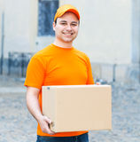 Delivery boy Stock Photography