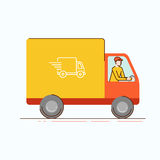 Delivery business concept Stock Photo
