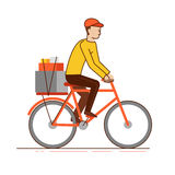 Delivery business concept Stock Photos
