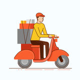 Delivery business concept Royalty Free Stock Photography