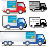 Delivery car Stock Images