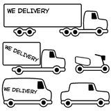 Delivery Car Royalty Free Stock Photography