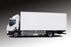 Delivery car Stock Image