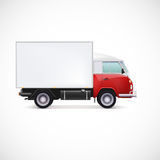 Delivery car Stock Photography