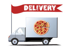 Delivery car Royalty Free Stock Image
