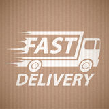 Delivery of cargo Royalty Free Stock Photo