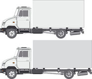 Delivery / cargo truck Royalty Free Stock Images