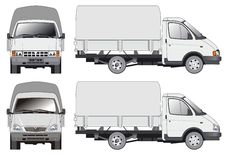 Delivery / cargo truck Stock Photos