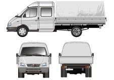 Delivery / cargo truck Stock Photo