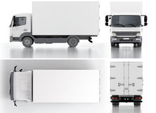 Delivery / Cargo Truck Stock Image