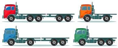 Delivery cargo truck, vector illustration Vector Illustration