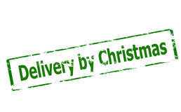 Delivery by Christmas Stock Images