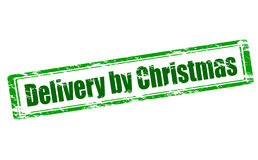 Delivery by Christmas Royalty Free Stock Images
