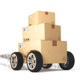 Delivery concept Royalty Free Stock Photography