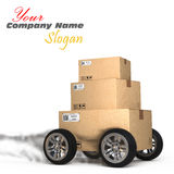 Delivery concept Royalty Free Stock Images