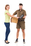 Delivery confirmation Stock Photography