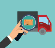 Delivery design Royalty Free Stock Images