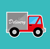 Delivery design Royalty Free Stock Image