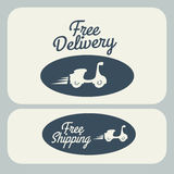 Delivery design Stock Image