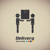 Delivery design Royalty Free Stock Photography