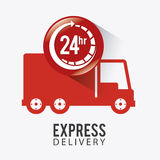 Delivery design. Stock Photos