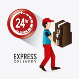 Delivery design. Royalty Free Stock Images