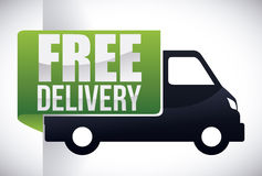 Delivery design. Delivery design over white background, vector illustration Royalty Free Stock Photography