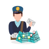 Delivery design. shipping  icon. White background Stock Image