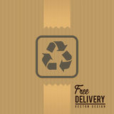 Delivery design, vector illustration. Royalty Free Stock Photos