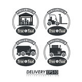 Delivery design,vector illustration. Royalty Free Stock Photo