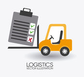 Delivery design, vector illustration. Royalty Free Stock Images