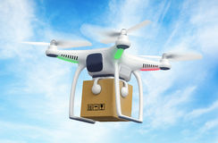 Delivery drone Stock Images