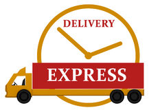 Delivery express Stock Photos