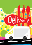 Delivery For Food_eps Royalty Free Stock Image