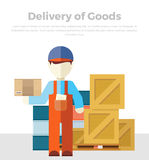 Delivery of Goods Stock Images