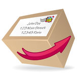 Delivery icon Royalty Free Stock Photography