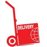 Delivery icon. Stock Photos