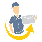 Delivery icon Royalty Free Stock Image
