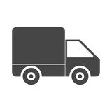Delivery icon. Simple vector icon stock illustration