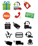 Delivery Icons Stock Photos
