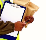 Delivery Stock Photo