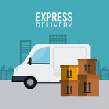 Delivery and logistics Royalty Free Stock Image